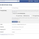 Facebook đã cho đổi địa chỉ cá nhân thêm một lần nữa