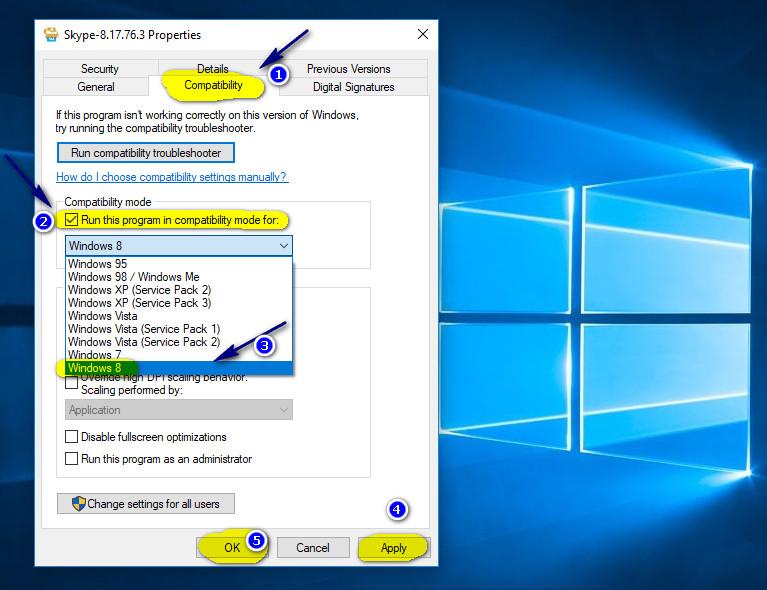 Hướng dẫn khắc phục lỗi không cài đặt được Skype trên Windows 10 mới nhất